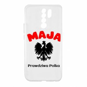 Phone case for Samsung J6 Plus 2018 Maja is a real Pole - PrintSalon