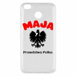 Phone case for Samsung A6+ 2018 Maja is a real Pole - PrintSalon