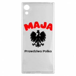 Phone case for Samsung A60 Maja is a real Pole - PrintSalon