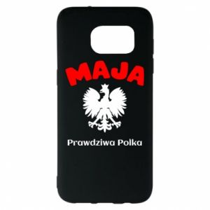 Phone case for Samsung A70 Maja is a real Pole - PrintSalon