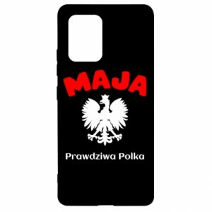 Phone case for Samsung A80 Maja is a real Pole - PrintSalon