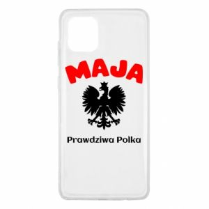 Phone case for Samsung S7 Maja is a real Pole - PrintSalon