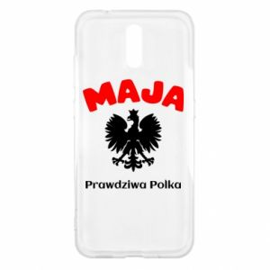 Phone case for Huawei P Smart Plus Maja is a real Pole - PrintSalon