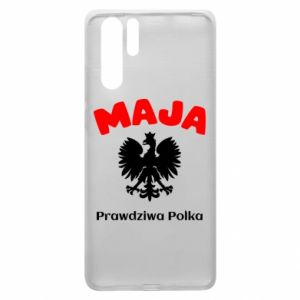 Phone case for Huawei P20 Lite Maja is a real Pole - PrintSalon