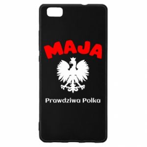 Phone case for Samsung A7 2018 Maja is a real Pole - PrintSalon