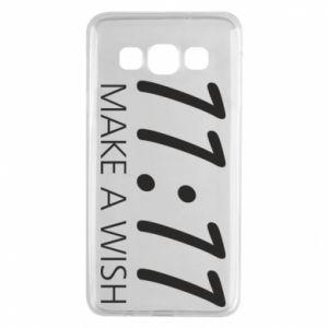 Samsung A3 2015 Case Make a wish