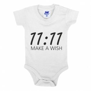 Baby bodysuit Make a wish