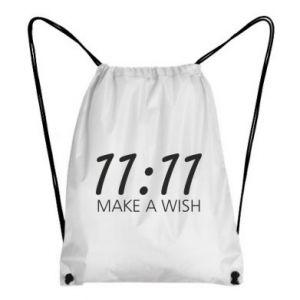 Plecak-worek Make a wish