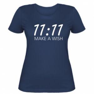 Koszulka damska Make a wish