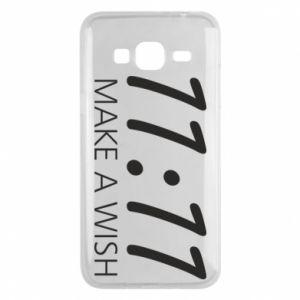 Samsung J3 2016 Case Make a wish
