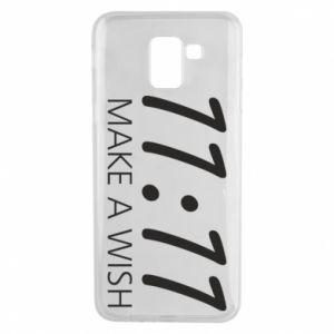 Samsung J6 Case Make a wish