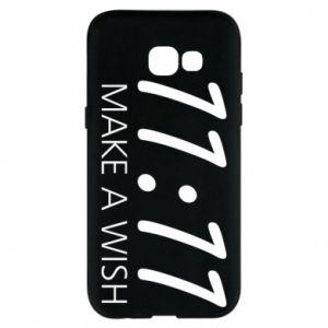 Samsung A5 2017 Case Make a wish