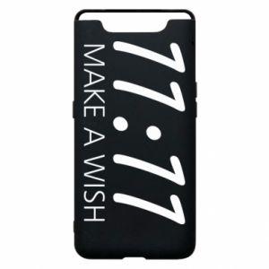 Samsung A80 Case Make a wish