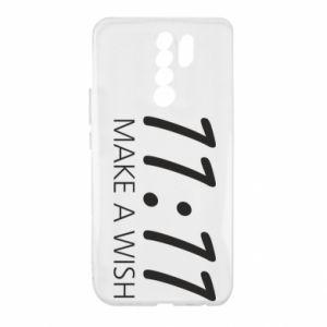 Etui na Xiaomi Redmi 9 Make a wish