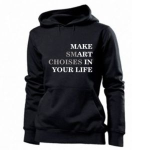 Women's hoodies Make art in your life