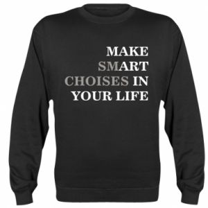 Sweatshirt Make art in your life