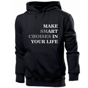 Men's hoodie Make art in your life