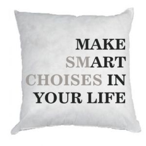 Pillow Make art in your life