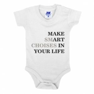 Baby bodysuit Make art in your life