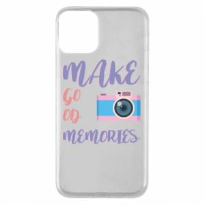 Etui na iPhone 11 Make good memories