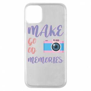 Etui na iPhone 11 Pro Make good memories