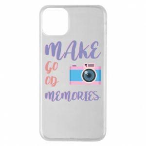 Etui na iPhone 11 Pro Max Make good memories
