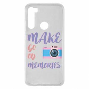 Etui na Xiaomi Redmi Note 8 Make good memories