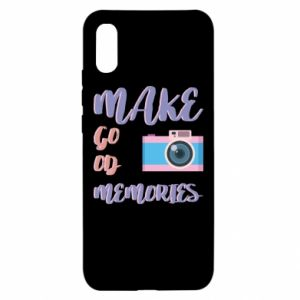 Xiaomi Redmi 9a Case Make good memories