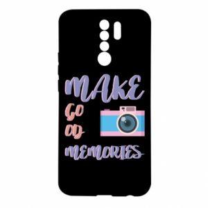 Etui na Xiaomi Redmi 9 Make good memories