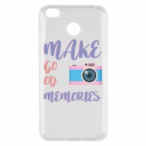Etui na Xiaomi Redmi 4X Make good memories