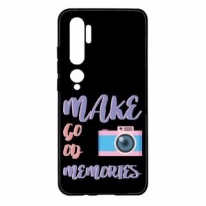 Etui na Xiaomi Mi Note 10 Make good memories