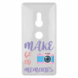 Etui na Sony Xperia XZ2 Make good memories