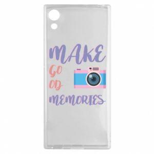 Etui na Sony Xperia XA1 Make good memories