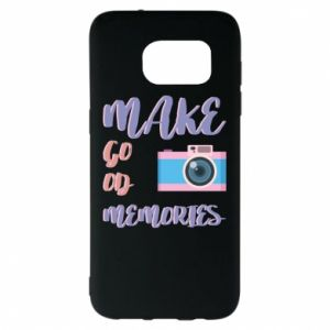 Etui na Samsung S7 EDGE Make good memories