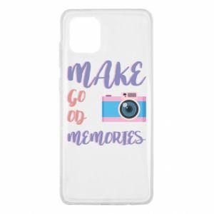Etui na Samsung Note 10 Lite Make good memories