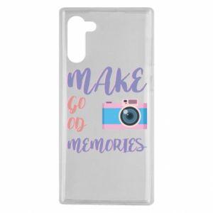 Etui na Samsung Note 10 Make good memories