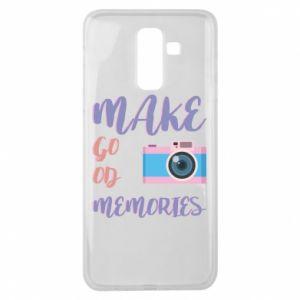 Etui na Samsung J8 2018 Make good memories