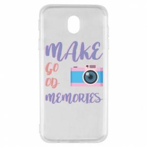 Etui na Samsung J7 2017 Make good memories