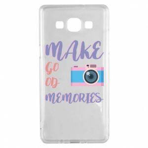Etui na Samsung A5 2015 Make good memories