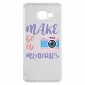 Etui na Samsung A3 2016 Make good memories