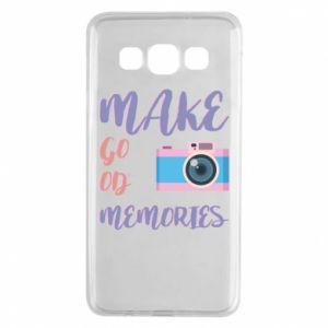 Etui na Samsung A3 2015 Make good memories