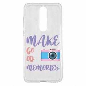 Etui na Nokia 5.1 Plus Make good memories