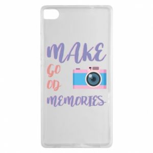 Etui na Huawei P8 Make good memories