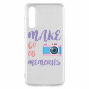 Etui na Huawei P20 Pro Make good memories