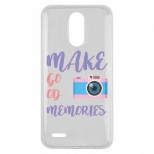 Etui na Lg K10 2017 Make good memories