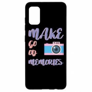 Etui na Samsung A41 Make good memories