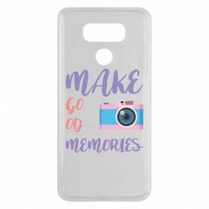 Etui na LG G6 Make good memories