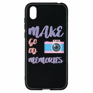 Etui na Huawei Y5 2019 Make good memories
