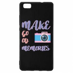 Etui na Huawei P 8 Lite Make good memories