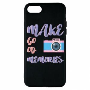 Etui na iPhone SE 2020 Make good memories